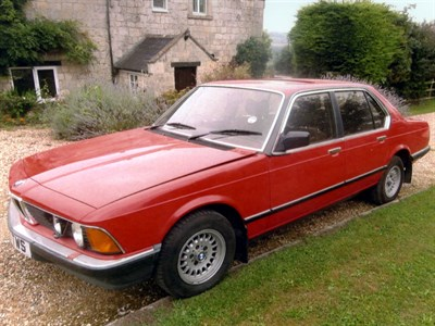 Lot 64-1984 BMW 728i