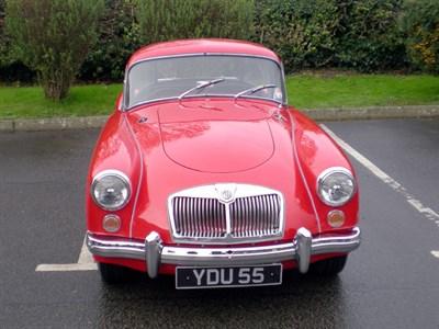 Lot 13-1959 MG A 1600 Coupe
