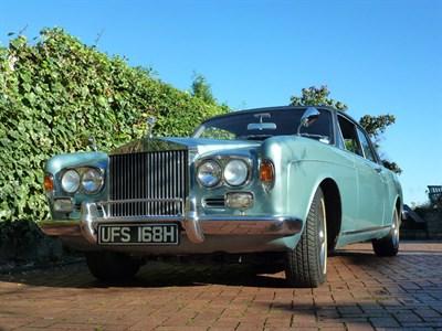 Lot 74-1970 Rolls-Royce Silver Shadow MPW