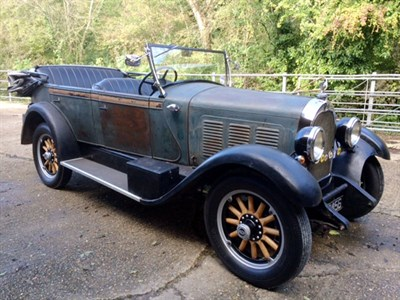 Lot 62 - 1928 Falcon Knight Model 12 Tourer