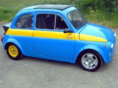 Lot 7-1963 Fiat 500 D Race Car