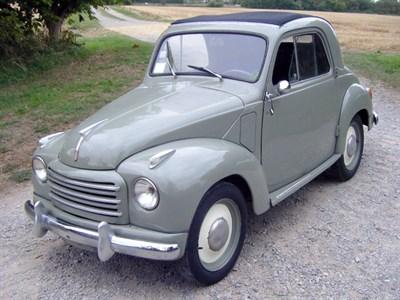 Lot 41-1952 Fiat 500 C Topolino