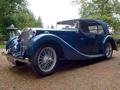 Lot 12-1937 MG VA Tourer