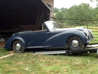 Lot 22-1951 AC 2-Litre Drophead Coupe