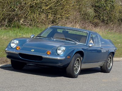 Lot 70 - 1974 Lotus Europa Twin Cam Special