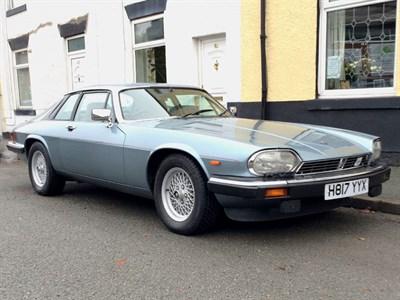 Lot 73-1990 Jaguar XJ-S 5.3 HE