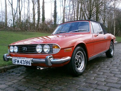 Lot 63-1974 Triumph Stag