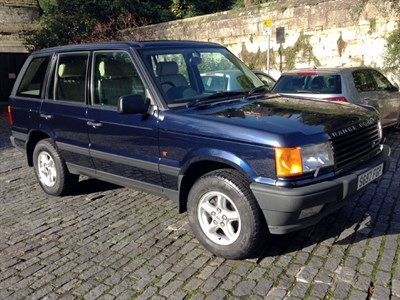Lot 8-1999 Range Rover HSE