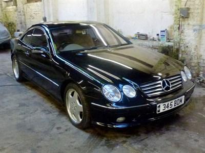 Lot 74-2002 Mercedes-Benz CL 500
