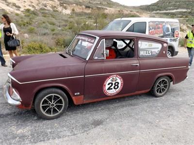 Lot 28-1962 Ford Anglia 105E