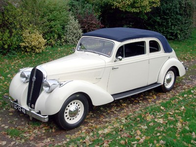 Lot 21-1939 Hotchkiss Monte Carlo 680 Decouvrable