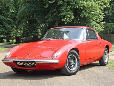 Lot 91-1969 Lotus Elan +2