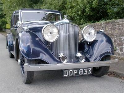 Lot 69-1938 Bentley 4.25 Litre Sports Saloon
