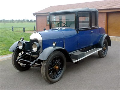 Lot 48 - 1925 Morris Oxford 'Bullnose' 3/4 Coupe