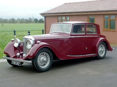 Lot 50 - 1937 Bentley 4.25 Litre Brougham Saloon