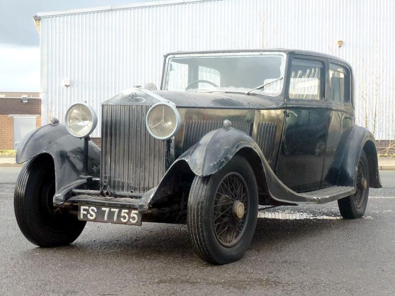 Lot 47 - 1933 Rolls-Royce 20/25 Saloon