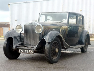 Lot 47 - 1933 Rolls-Royce 20/25 Saloon
