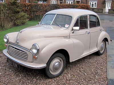 Lot 52 - 1956 Morris Minor Saloon