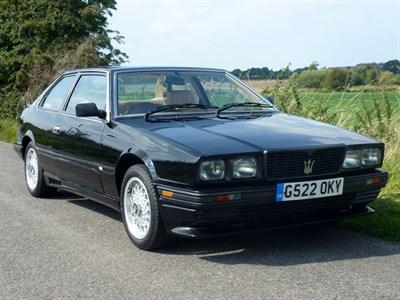 Lot 35 - 1990 Maserati Biturbo
