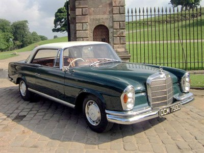 Lot 37 - 1966 Mercedes-Benz 250 SE Coupe