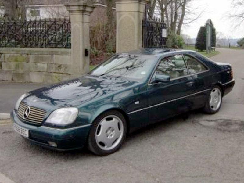 Lot 33 - 1996 Mercedes-Benz CL 500