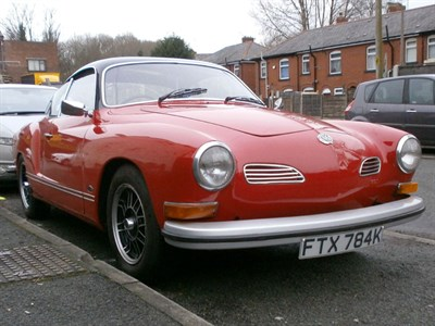 Lot 75 - 1971 Volkswagen Karmann Ghia Coupe