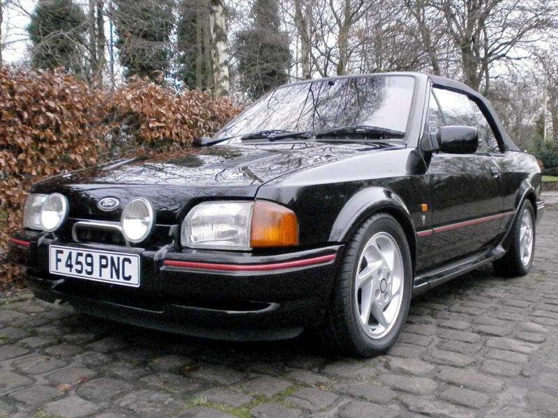 Lot 19 - 1988 Ford Escort XR3i Cabriolet