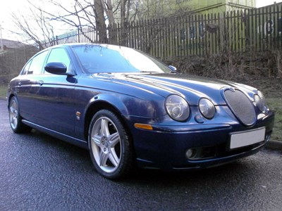 Lot 22 - 2002 Jaguar S-Type R