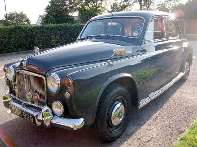 Lot 5 - 1962 Rover 100