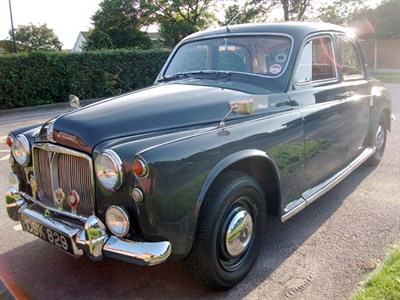 Lot 5-1962 Rover 100