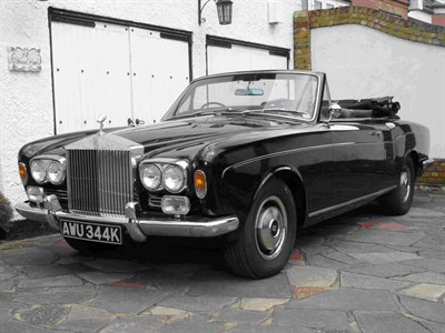 Lot 21 - 1972 Rolls-Royce Corniche Drophead Coupe