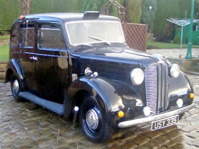Lot 61 - 1957 Austin FX3 Taxicab