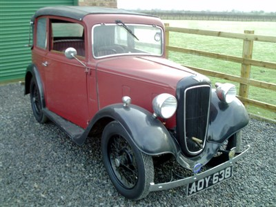 Lot 2-1935 Austin Seven Pearl Cabriolet