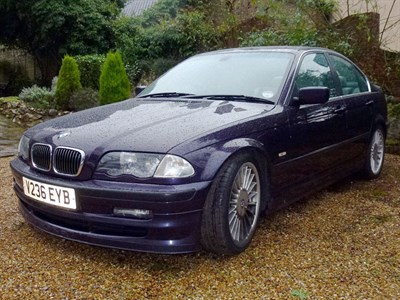 Lot 25 - 2000 BMW Alpina B3 3.3