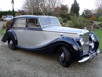 Lot 74 - 1949 Bentley MK VI H.J. Mulliner Saloon