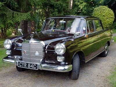 Lot 78-1965 Mercedes-Benz 190 C
