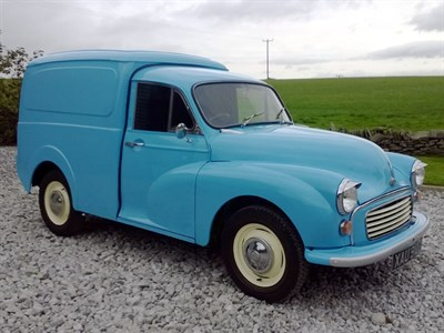 Lot 28 - 1971 Morris Minor Van