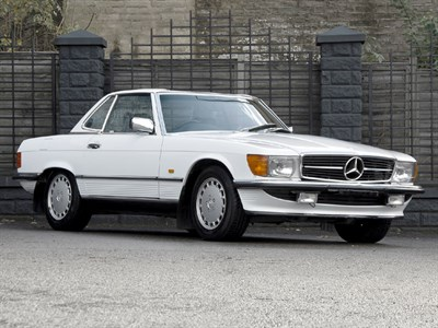 Lot 78 - 1987 Mercedes-Benz 500 SL