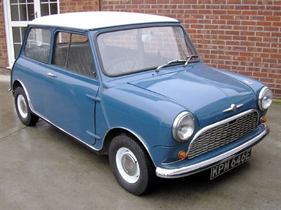 Lot 43 - 1967 Morris Mini Minor