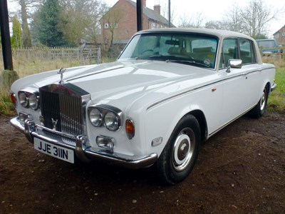 Lot 9 - 1975 Rolls-Royce Silver Shadow
