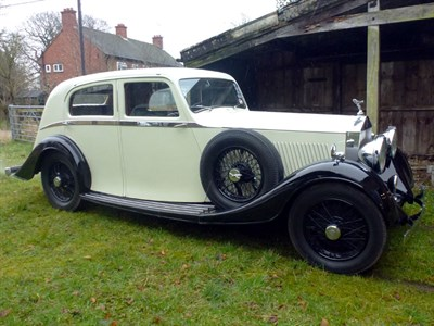 Lot 76 - 1935 Rolls-Royce 20/25 'Airline' Saloon