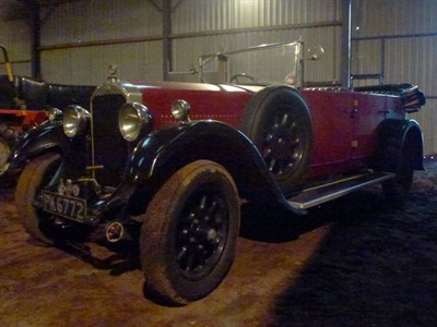Lot 84 - 1929 Humber 16/50 Tourer