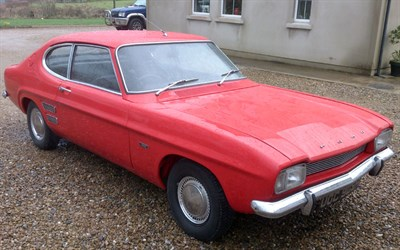 Lot 10 - 1970 Ford Capri 1300