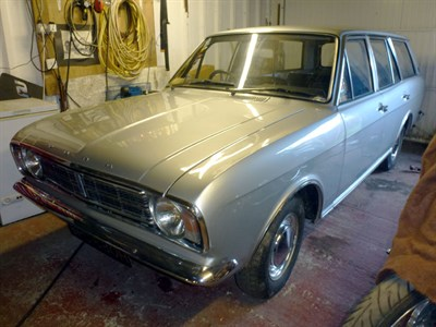 Lot 36 - 1970 Ford Cortina 1600 Estate