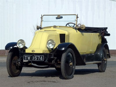 Lot 4-1922 Renault Type I-I 10CV Tourer