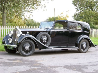 Lot 64-1936 Rolls-Royce Phantom III Sedanca de Ville