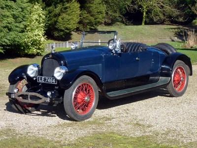 Lot 48 - 1923 Marmon Model 34B 2-Passenger Speedster