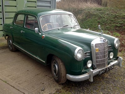 Lot 6 - 1961 Mercedes-Benz 180