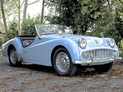 Lot 25 - 1959 Triumph TR3A
