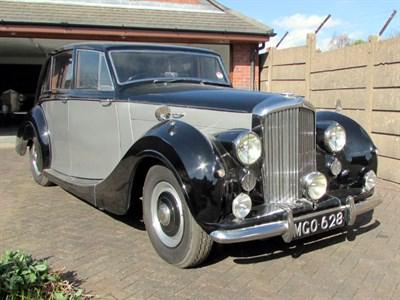 Lot 32 - 1950 Bentley MK VI Sports Saloon
